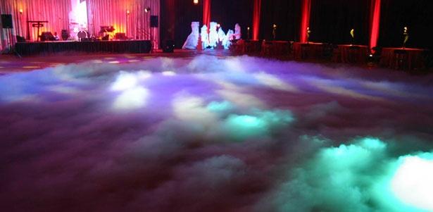 Dry ice / Low fog